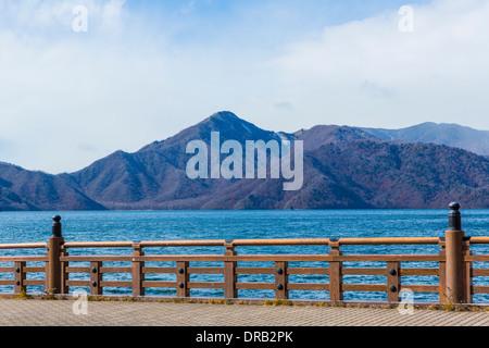 Le lac Chuzenji à Nikko, Japon