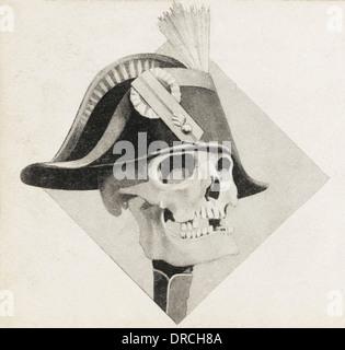 Le crâne de Napoléon Banque D'Images