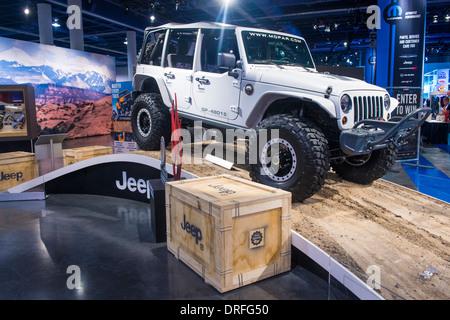 Jeep au SEMA Show à Las Vegas, Nevada