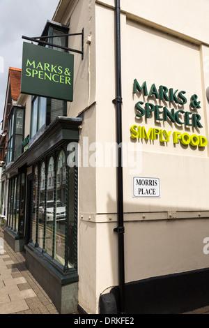 Marks & Spencer simply food shop logo
