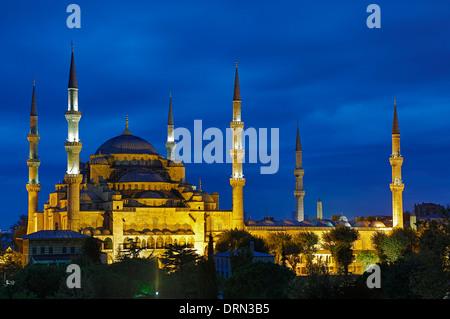 La mosquée bleue, Istanbul, Turquie Banque D'Images