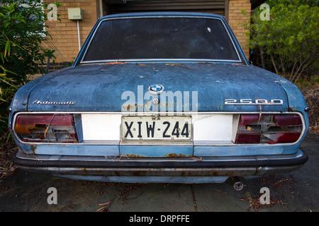 Vieille voiture BMW Banque D'Images