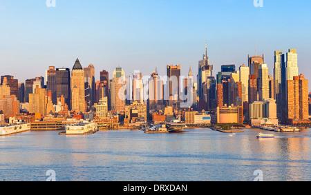 Manhattan Skyline Banque D'Images