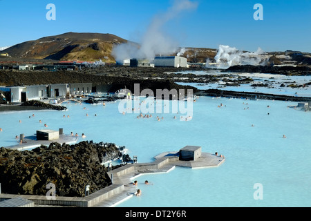 Blue Lagoon , Svartsengi, Islande, régions polaires
