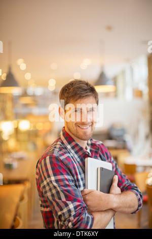 In cafe Banque D'Images