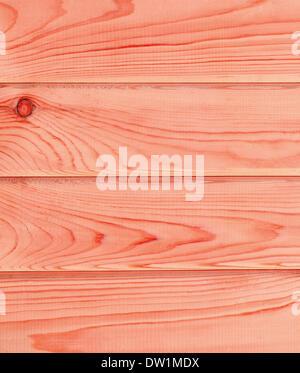 Planches en bois lumineux rouge Banque D'Images