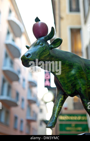 Vache Wilhelm Tell Banque D'Images