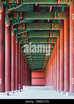 Le Palais Changdeokgung à Séoul, Corée du Sud. Banque D'Images
