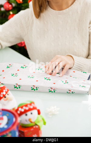 Emballage cadeau de Noël Femme