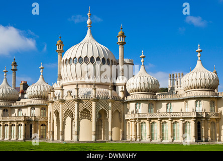 Brighton Royal Pavilion, Brighton, East Sussex, Angleterre, Royaume-Uni, Europe Banque D'Images
