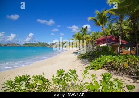 Galley Bay et Plage, Saint John's, Antigua, Iles sous le vent, Antilles, Caraïbes, Amérique Centrale Banque D'Images