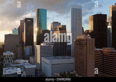 Houston, Texas, USA, centre-ville city skyline
