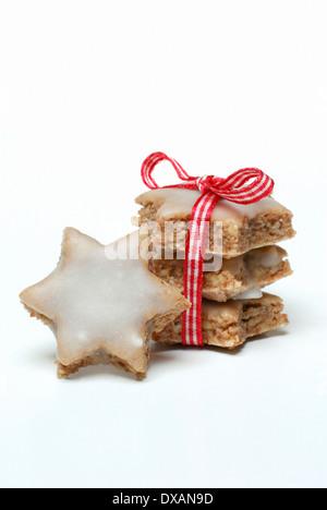 Les cookies à la cannelle Banque D'Images