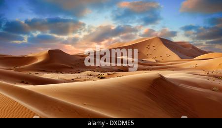 Sahara dunes de l'erg Chebbi, Maroc, Afrique