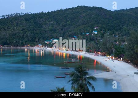Plage Haad Yao ou Long Beach, Koh Phangan Island, province de Surat Thani, Thaïlande, Asie du Sud-Est Banque D'Images