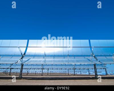 Centrale thermique solaire Andasol 1, Espagne Banque D'Images