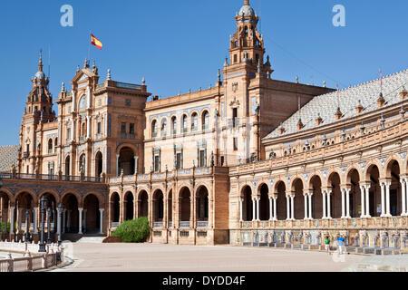 Plaza de Espana. Banque D'Images