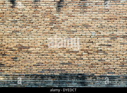 Vieux mur de briques grande comme un arrière-plan Banque D'Images