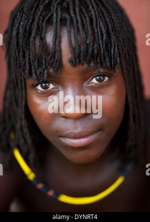 Zemba tribal folk près dOpuwo namibie Photo Stock - Alamy