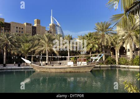 Madinat Jumeirah Banque D'Images