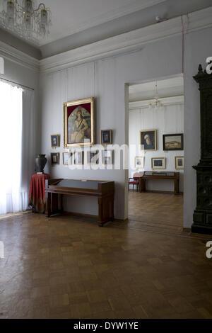 L'intérieur de l'état de l'Art Museum, Baku 2008 Banque D'Images