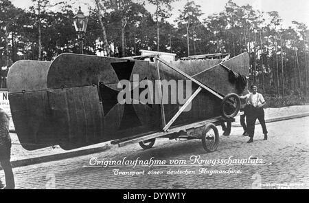Première Guerre mondiale: les unités de la Force aérienne allemande Banque D'Images