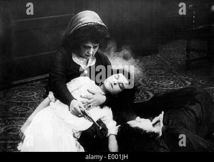 Film de propagande du sentiment anti-allemand-américain dans la Première Guerre mondiale Banque D'Images