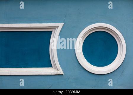 Une partie de l'immeuble à Irkoutsk, en Sibérie, Russie Banque D'Images