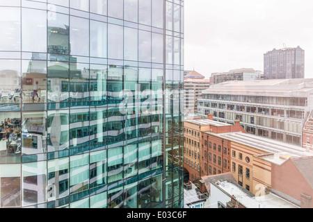 Bureaux dans le quartier des affaires, financier Colmore District de Birmingham, en Angleterre. Banque D'Images
