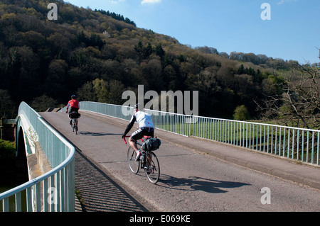 Bigsweir Bridge sur la rivière Wye près de Llandogo, Monmouthshire, Wales, UK