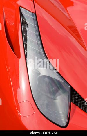 Ferrari 458 Italia Route Close up