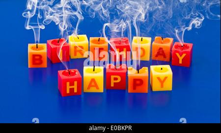 Happy Birthday Alles Gute Zum Geburtstag Kinder Klein Schild Banque