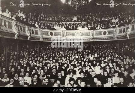 L'ancienne salle de théâtre Banque D'Images