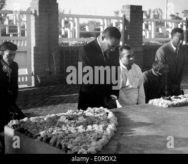Martin Luther King, Jr. à Gandhi's memorial