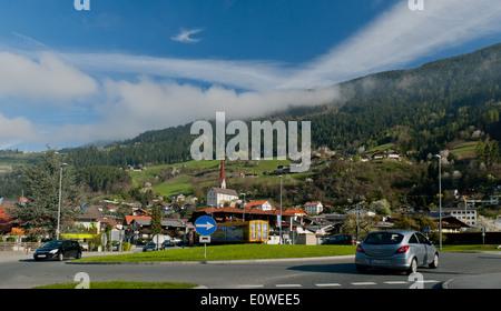 Village autrichien Banque D'Images