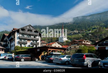 Austrian village resort Banque D'Images