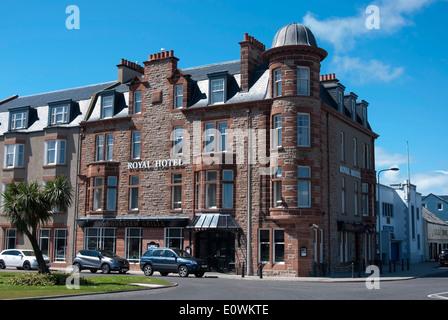 L'hôtel 4 étoiles Royal Hotel Main Street Campbeltown Mull of Kintyre Scotland UK Banque D'Images