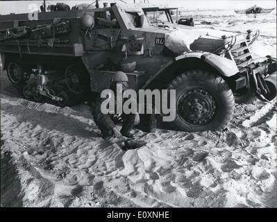 Jun 08, 1967 - La Guerre des Six Jours, les conflits armés en juin 1967 entre Israël et les états arabes de l'Égypte, Banque D'Images