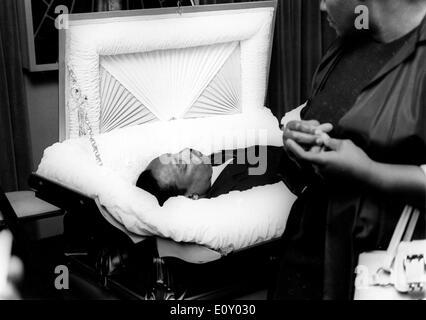 Funérailles du révérend Martin Luther King Jr. Banque D'Images