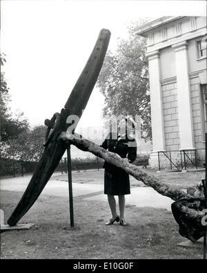 10 octobre 1972 - Congrès international des musées maritimes du bassin de l'Atlantique. Le premier Congrès international Banque D'Images