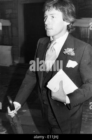 Aug 05, 1978 - Londres, Angleterre, Royaume-Uni - RODDY LLEWELLYN. Sir Roderic Victor Llewellyn, 5ème Baronet (né Banque D'Images