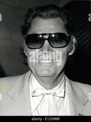 24 février 2012 - Johnny Weissmuller, acteur américain. Banque D'Images