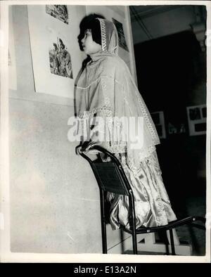 29 février 2012 - ~~~~~~~ ~~~ en's Art de l'Inde - Pakistan et Ceylan... ~~~~~ ~~~~ à l'Imperial Institute: Un Banque D'Images