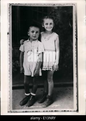 Mar. 22, 2012 - Le Maréchal Tito aidé mère allemande! Il a envoyé son Chikdern retour: Pendant de longues années Banque D'Images