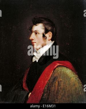 Samuel Morse (l'inventeur du code Morse), l'auto-portrait, 1812 Banque D'Images