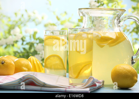 Les agrumes,limonade boisson d'été. Banque D'Images