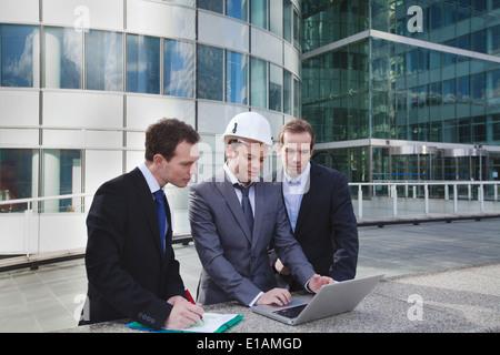 Projet de travaux de construction Banque D'Images