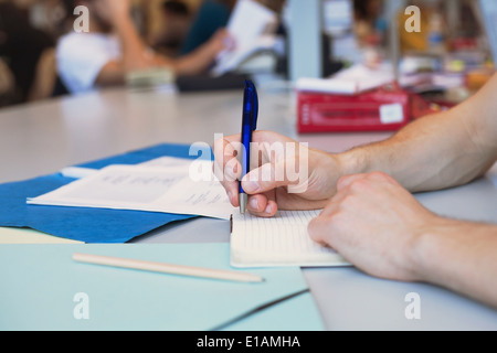 L'apprentissage des langues Banque D'Images