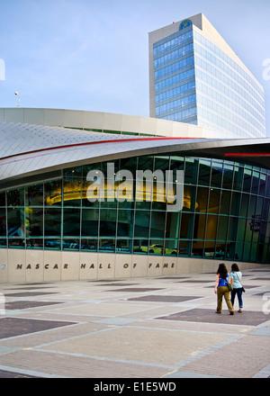 Nascar Hall of Fame à Charlotte en Caroline du Nord Banque D'Images