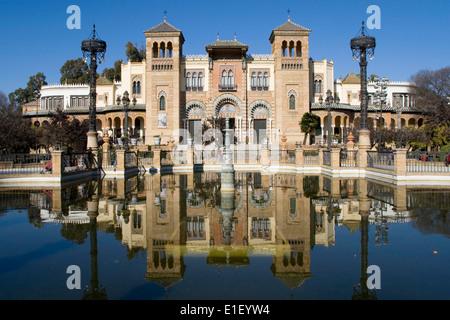 Musée des Arts et Traditions Populaires de Séville, Espagne. Banque D'Images